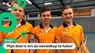 Dit zijn de beste tennistalenten van Nederland