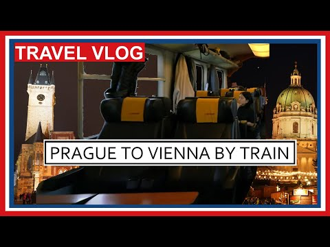 RegioJet Train Prague to Vienna - Why You Should Travel Business Class in Europe