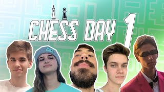 Geometry Dash Chess Tournament Day 1 (Highlights)