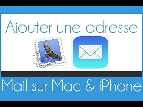Configurer et ajouter une adresse Mail sur l