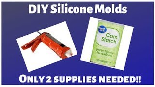 DIY Silicone Mold - Easiest and Cheapest Method Ever - Easy Silicone Mold Making
