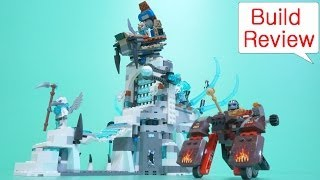 Lego Chima(레고 키마) 70147 Sir Fangar's Ice Fortress - Build Review