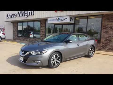 Dave Wright Nissan Subaru >> [NEW] 2016 Nissan Maxima SL Demonstration of Interior Features - YouTube