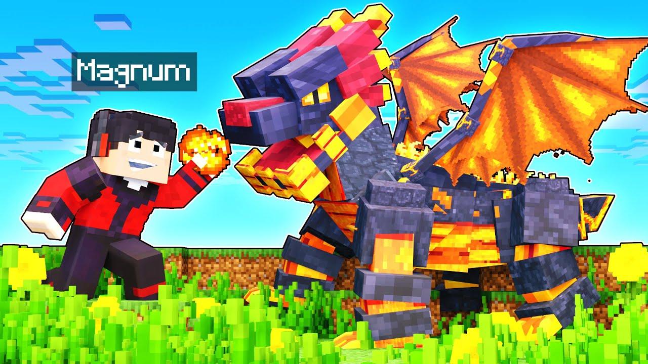 ENCONTRÉ AL DRAGON DEL NETHER! 🔥🙊😱 | Minecraft