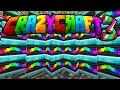 "Minecraft CRAZY CRAFT 3 ""RAINBOW HOUSE!"" #10 (Carpenter Blocks Mod) - SMP"