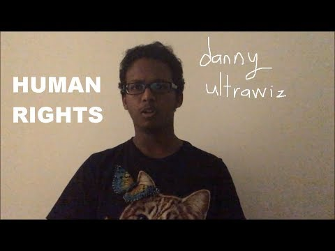 """Danny Ultrawiz """"Human Rights"""" (OFFICIAL MUSIC VIDEO)"""