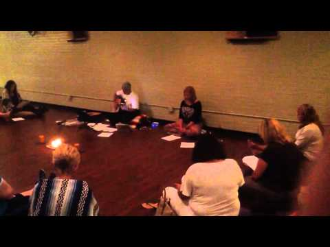 Leading My First Kirtan - July 19, 2014 at Garden of Zen Yoga Studio IMG 3122