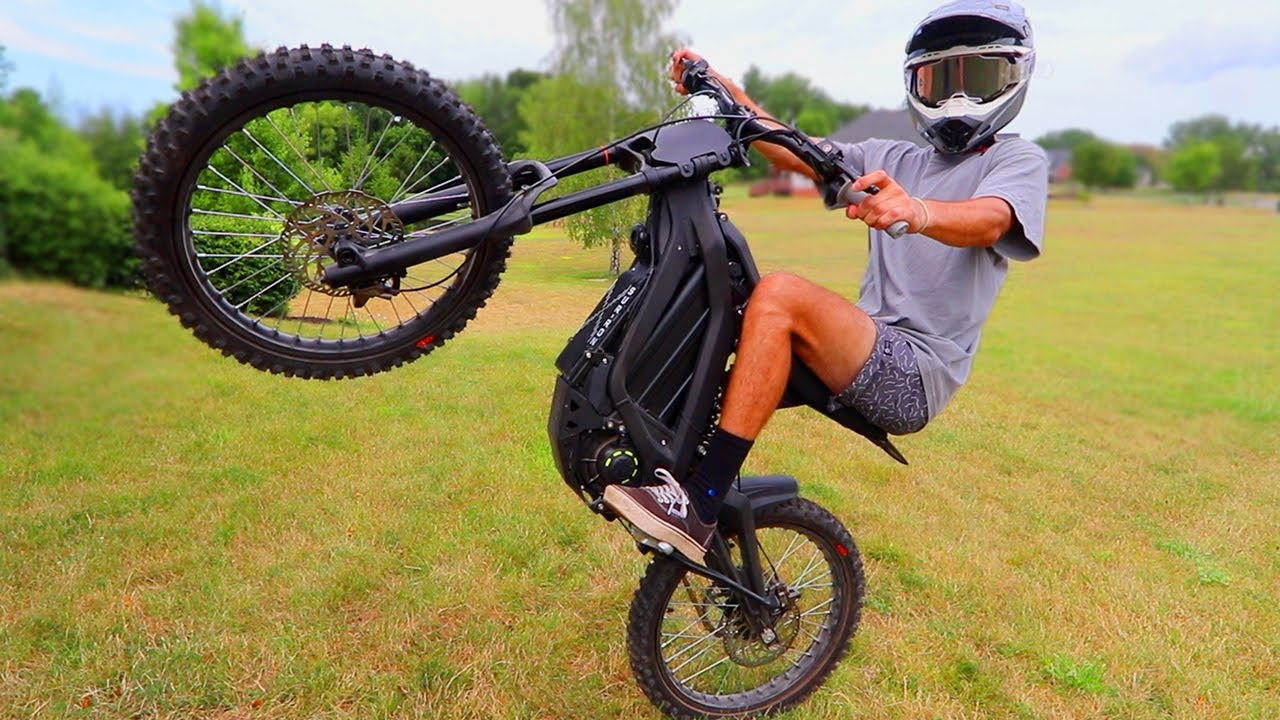 The Best E-Bike You Can BUY! Sur Ron X Black Edition