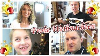 Weihnachten vor der Bescherung 🎁 Heilig Abend Festessen 🍗 marieland Vlog #153