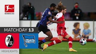 #scfbsc   highlights from matchday 13!► sub now: https://redirect.bundesliga.com/_bwcs watch the bundesliga of sc freiburg vs. hertha berlin ...