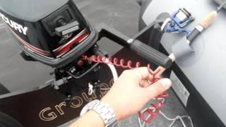 Лодочный мотор Mercury ME 5M л.с. 4-х тактный цена, видео, отзывы