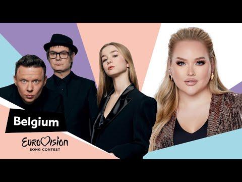 Eurovisioncalls Hooverphonic - Belgium 🇧🇪 with NikkieTutorials