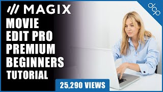 magix Movie Edit Pro 2019 Tutorial - Text Titles Tutorial