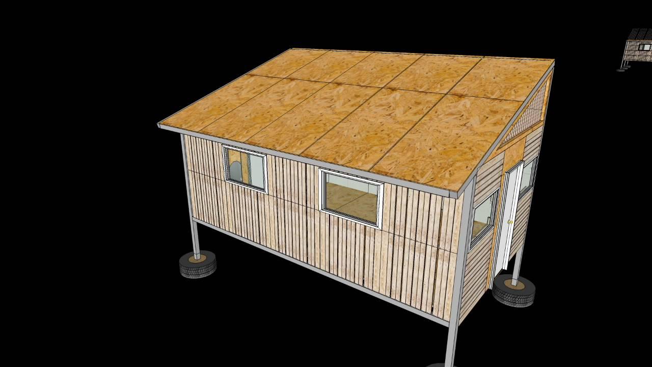 casa estructura metalica