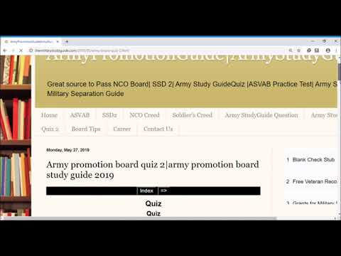 How To Pass Army Promotion Board- Army Study Guide