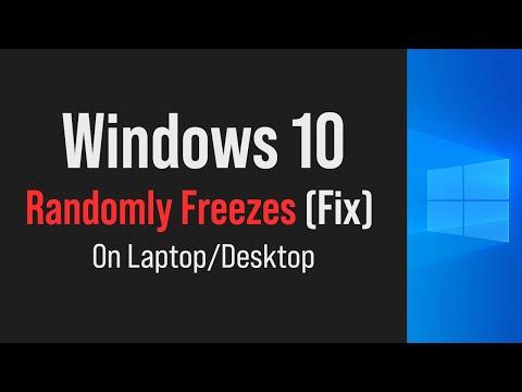 Windows 10 random freezes Fix (2019) - YouTube