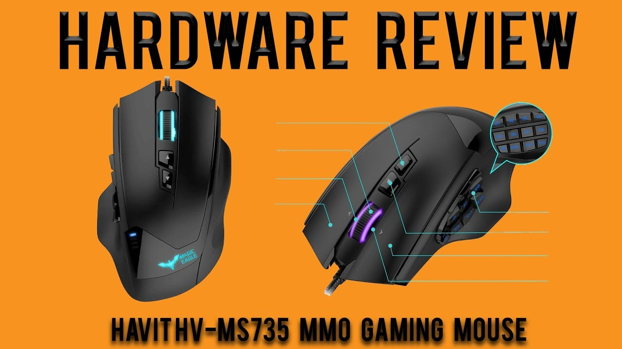 47d5febe433 Hardware Review: Havit HV-MS735 MMO Gaming Mouse - YouTube