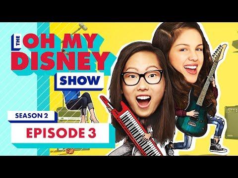 D23 Expo with Colin O'Donoghue, Bizaardvark, CharismaStar, and MrLeoZombie  The Oh My Disney