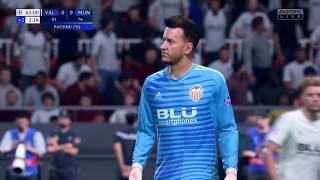 Valencia CF vs Manchester UTD   Highlights   UEFA Champions League   FIFA 19