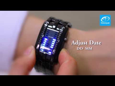 SKMEI 0926 Digital LED Display Water Resistant Couple Watch