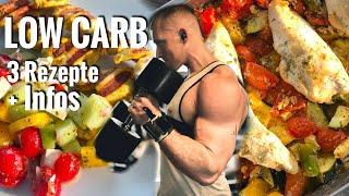 3 Low Carb Rezepte I Wenig Kalorien & Infos zur Diät - Schmale Schulter
