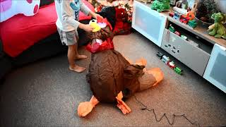Thanksgiving Turkey Airblown Inflatable - Unboxing