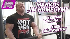 "Markus privat! Training im ""Homegym"" während Corona-Krise"