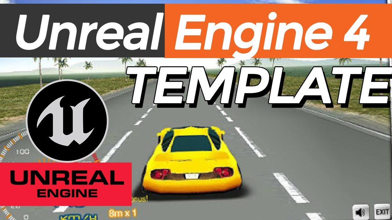 Car template FREE Download: Unreal Engine 4