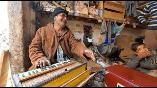 Harmonium Jam Session In The Streets of Pakistan