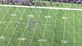 Kirk Cousins First Play as a Viking