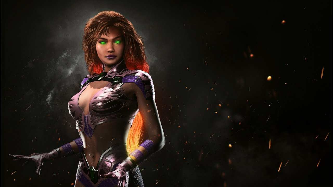 INJUSTICE 2: Starfire Enters The Ring In An Action-Packed New Gameplay Trailer