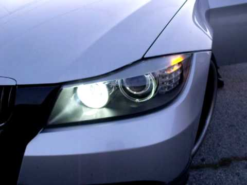 Bmw E90 Oem Xenon Conversion Halogen To Xenon Lci Youtube