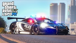 GTA 5 - LSPDFR Ep444 - Fastest Police Pursuit Vehicle!!