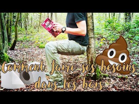 Comment faire ses besoins dans les bois ?