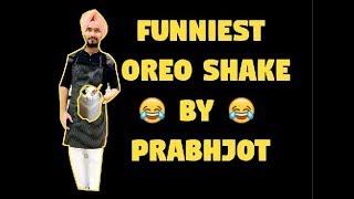 FUNNIEST OREO SHAKE BY PAJJI | How To Make Oreo Shake At Home
