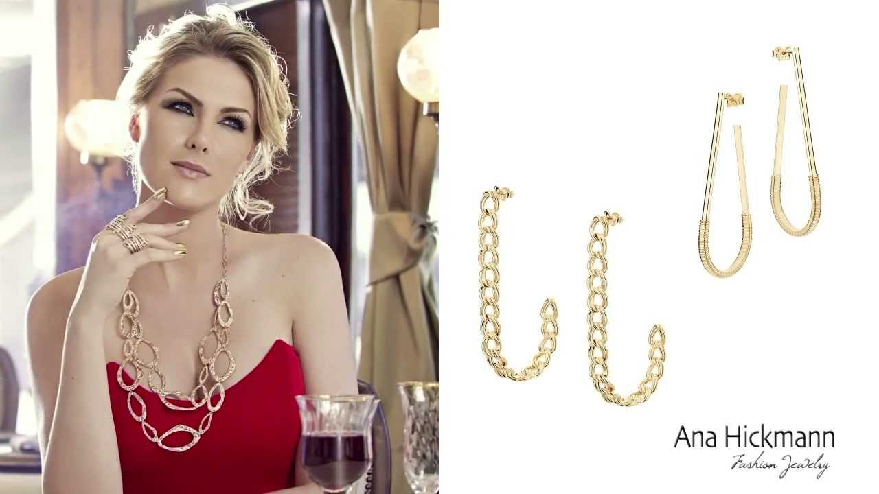 8f5b24c3383d9 Ana Hickmann Fashion Jewelry by Rommanel - 9ª coleção - YouTube