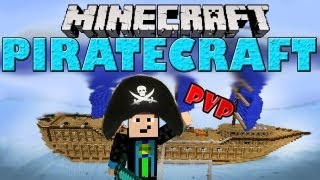 Minecraft - PIRATECRAFT - PvP Map [German] - Ahoi ihr Landratten! =) | GommeHD
