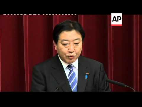 Noda says Japan will join talks on Pacific Rim free trade zone