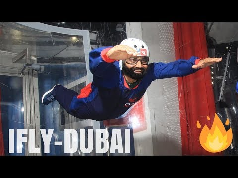 TIME TO FLY – IFLY DUBAI 🔥🔥🔥