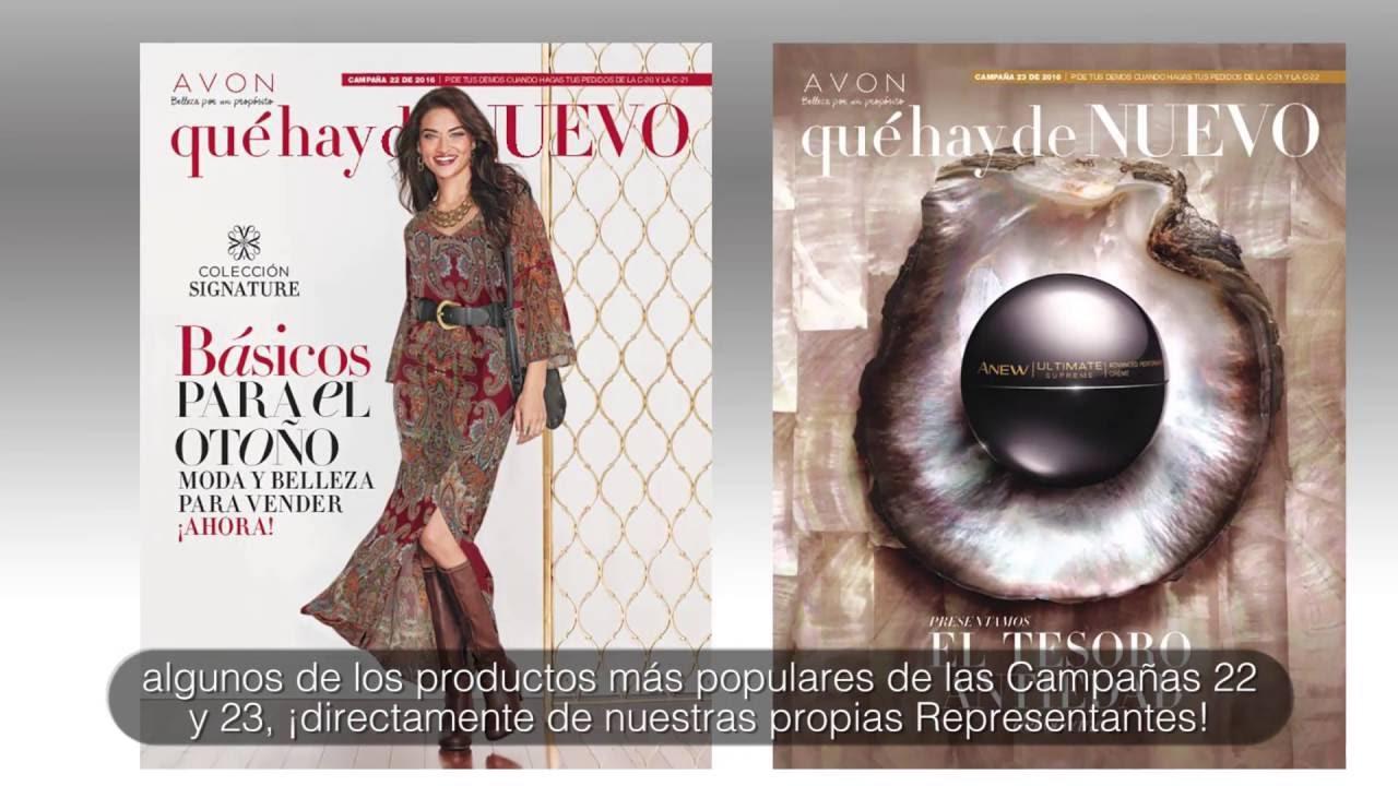Avon Web TV | Qué Hay de Nuevo en Avon: Próximas Novedades en las ...