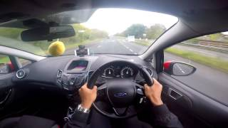 Ford Fiesta Zetec S 1.0 Ecoboost Black Edition POV GoPro Hero 4 HD (Bluefin Superchips Remap)