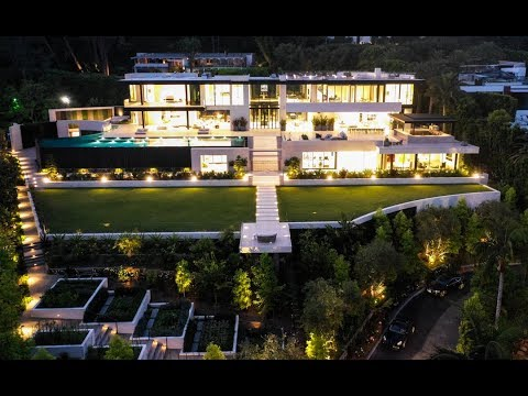 180 Million Dollars Bel Air Dream House - 908 Bel Air Road, Bel-Air CA