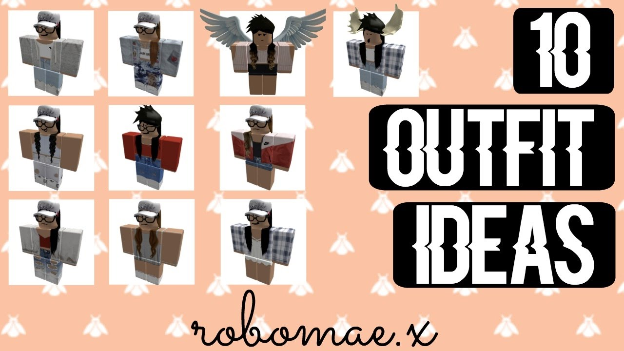 10 ROBLOX OUTFIT IDEAS! || ROBOMAE.X | Doovi