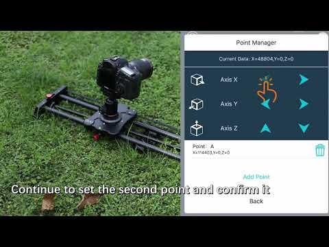 "GVM Wireless Carbon Fiber Motorized Camera Slider (31"") with Bluetooth Remote"