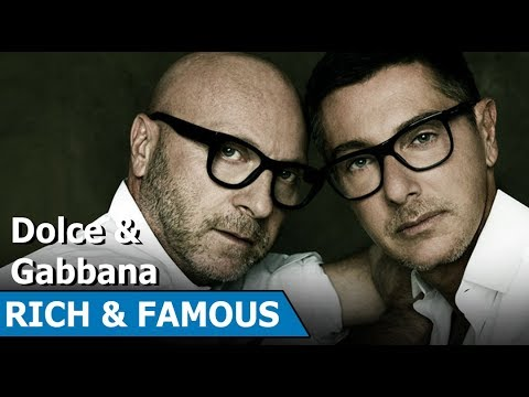Domenico Dolce and Stefano Gabbana | Italian Luxury Fashion House | Rich & Famous | Short Biography
