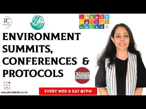 Environment Conferences, Summits, Protocols | General Science