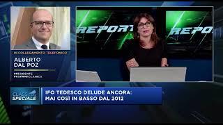26-08-2019 SPECIALE CLASS CNBC: Intervista al Presidente di Federmeccanica Alberto DAL POZ