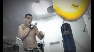 Анте Делия готовится к бою на M-1 Challenge 45, 28 февраля