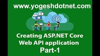 ASP NET Core 2 WEB API  Introduction and Implementation   Hindi   Part 1