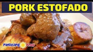 Pork Estofado